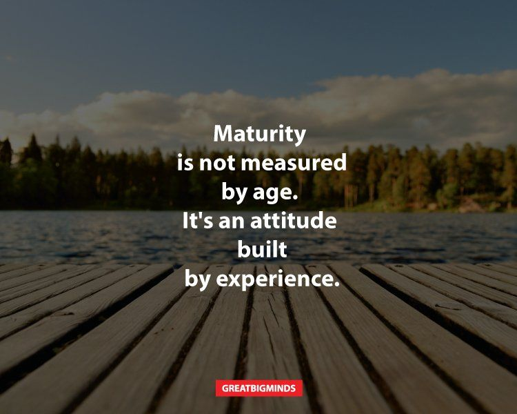 maturity 1