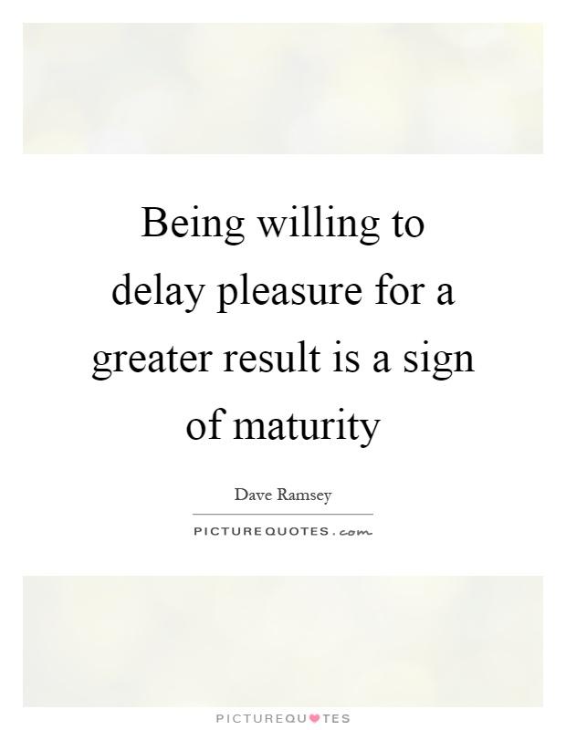 maturity 6